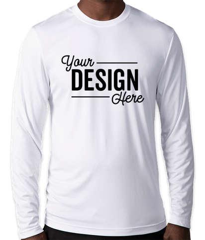 Hanes Cool Dri Long Sleeve Performance Shirt - White
