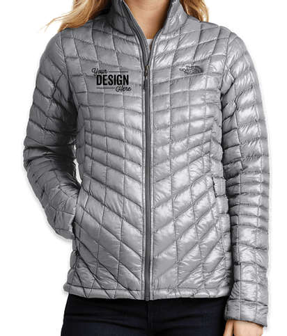 Canada - The North Face Women's ThermoBall Trekker Jacket - Mid Grey