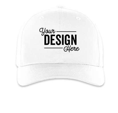 Richardson Pro Twill Snapback Hat - White