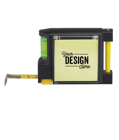 Combo Tape Measure and Level - Black