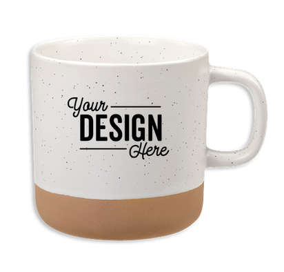 12 oz. Santos Ceramic Mug - White