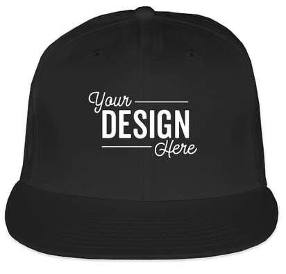New Era 9FIFTY Flat Bill Snapback Hat - Black