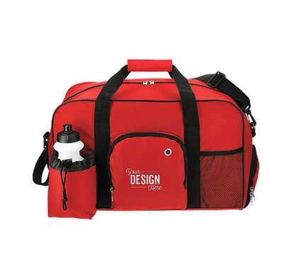 Deluxe Weekender Bag - Red