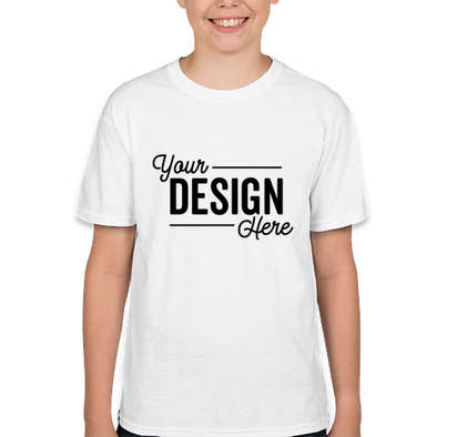 Hanes Youth X-Temp T-shirt - White