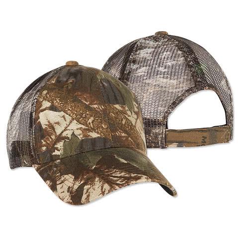 Outdoor Cap Camo Trucker Hat
