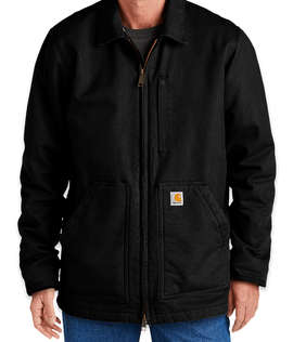 Carhartt Washed Duck Sherpa-Lined Coat
