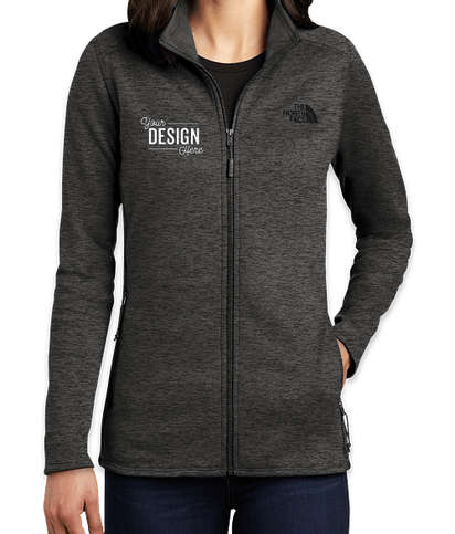 The North Face Women's Skyline Full Zip Fleece Jacket - TNF Dark Grey Heather
