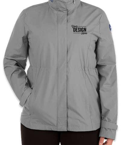 Nautica Women's Voyage Raincoat - Graphite