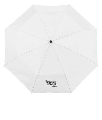 """42"""" Totes Auto Open Folding Umbrella - White"""
