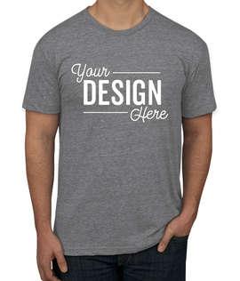 American Apparel USA-Made Tri-Blend Track T-shirt