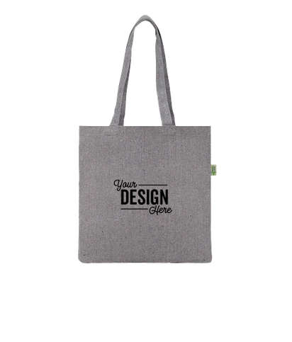 Recycled Cotton Convention Tote Bag - Multi-colored