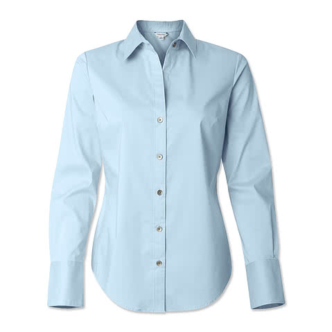 Calvin Klein Women's Cotton Stretch Shirt