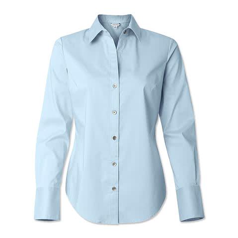 Calvin Klein Women's Cotton Stretch Shirt