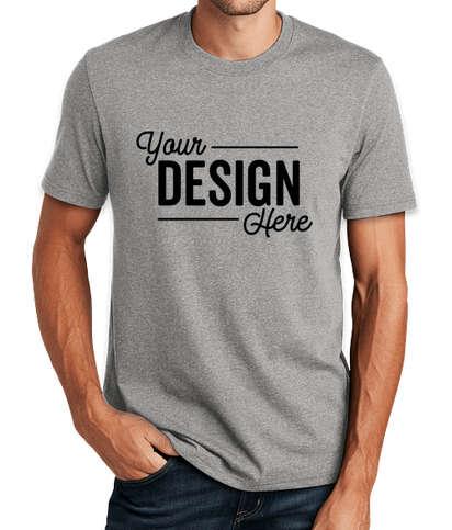 District Re-Tee T-shirt - Light Heather Grey