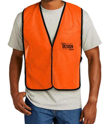 CornerStone Non-ANSI Enhanced Visibility Mesh Safety Vest - Safety Orange