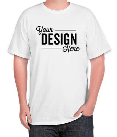 Jerzees Tall 50/50 T-shirt - White
