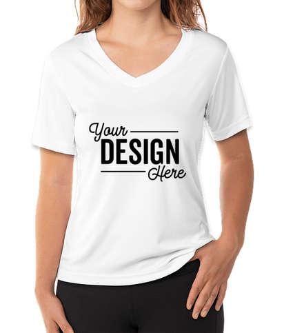Reebok Women's V-Neck Performance Shirt - White