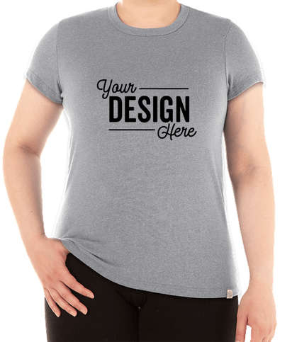Marine Layer Women's Re-Spun Crew T-shirt - Upcycled Grey