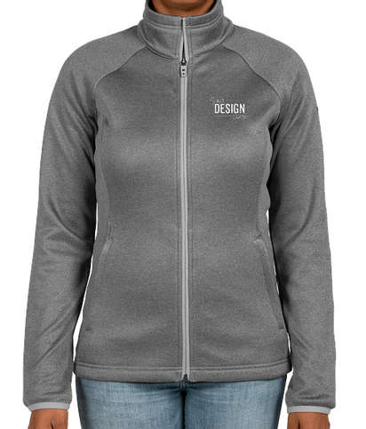 The North Face Women's Canyon Flats Fleece Jacket - Medium Grey Heather