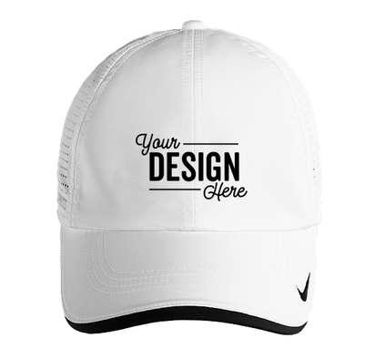 Nike Dri-FIT Swoosh Perforated Hat - White