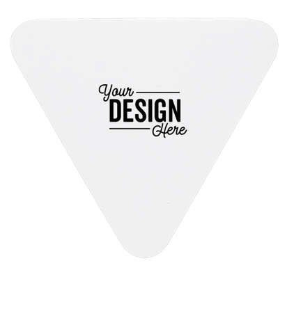 Triangle Sticky Note Pad - White