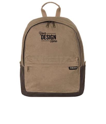Dri Duck Essential Backpack - Field Khaki / Tobacco