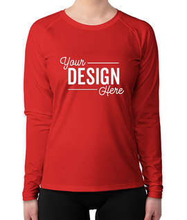 Sport-Tek Women's Long Sleeve Rash Guard Shirt