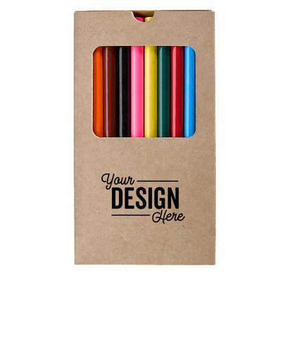 Adult Coloring Book Kit - Natural