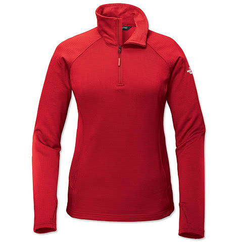 The North Face Women's Mountain Peaks Quarter Zip Fleece Pullover