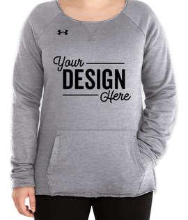 Under Armour Women's Hustle Pocket Crewneck Sweatshirt