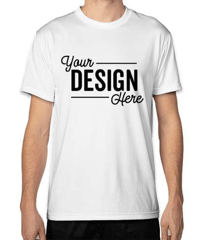 Bayside USA-Made Performance Shirt - White