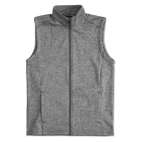 Devon & Jones Newbury Melange Fleece Vest