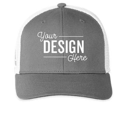 Adidas Colorblock Trucker Hat - Vista Grey / White