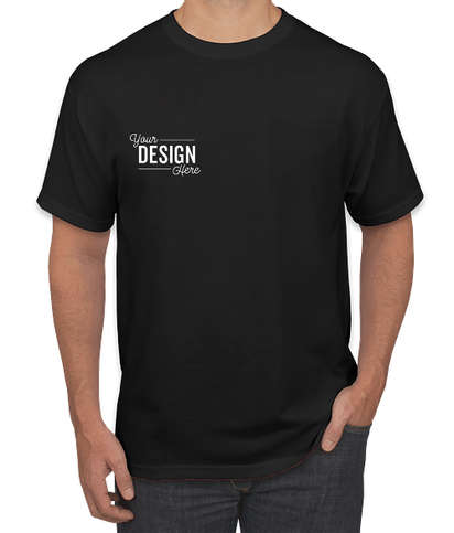 Canada - Jerzees 50/50 Pocket T-shirt - Black