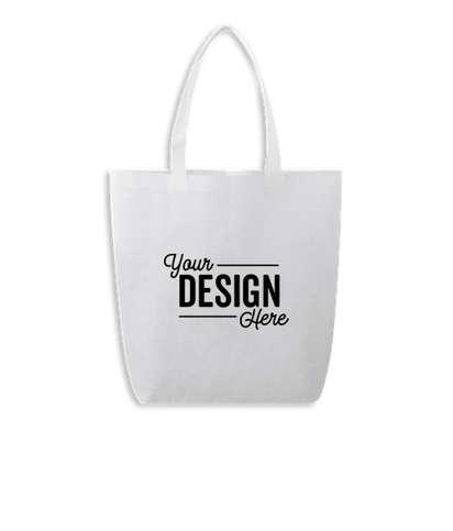 Eros Non-Woven Shopper Tote Bag - White