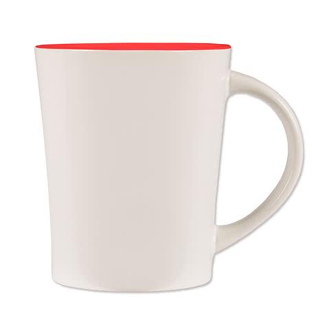 14 oz. Ceramic Two-Tone Citrus Mug