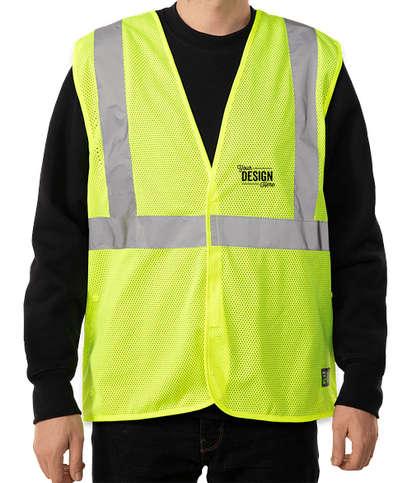 Berne Class 2 Economy Safety Vest - Yellow