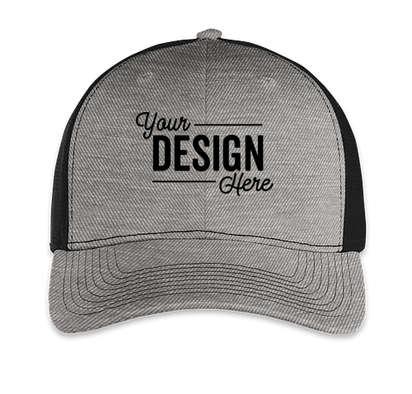 Outdoor Cap Ultimate Trucker Hat - Heather Gray / Black