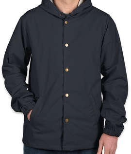 Independent Trading Hooded Coaches Jacket
