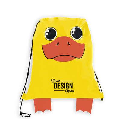 Paws N Claws Sport Drawstring Bag - Duck