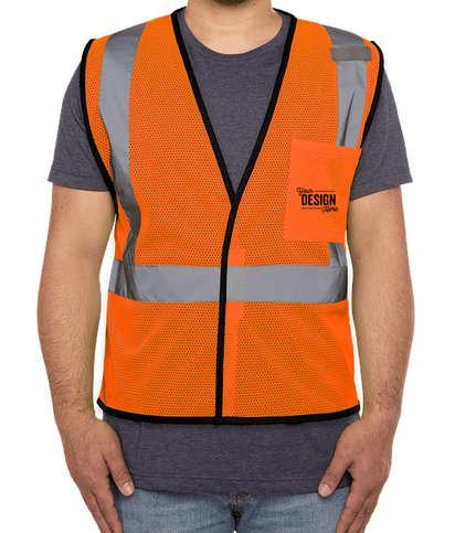 CornerStone Class 2 Economy Mesh Safety Vest - Safety Orange