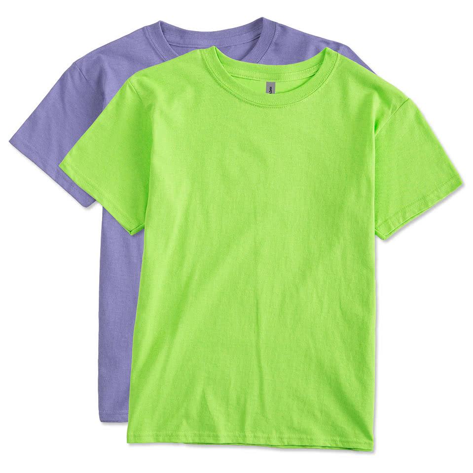 gildan youth 100 cotton t shirt design custom kids cotton tees. Black Bedroom Furniture Sets. Home Design Ideas