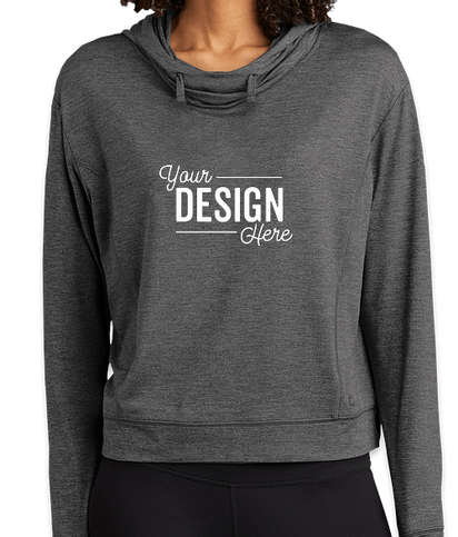 OGIO Women's Endurance Force Performance Pullover Hoodie - Gear Grey Heather
