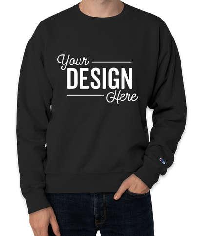 Champion Garment Dyed Crewneck Sweatshirt  - Black