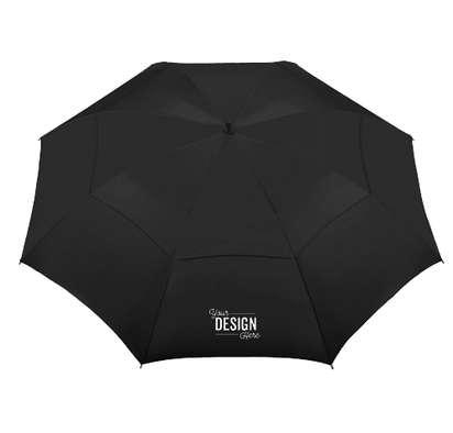 "62"" Course Vented Golf Umbrella - Black"
