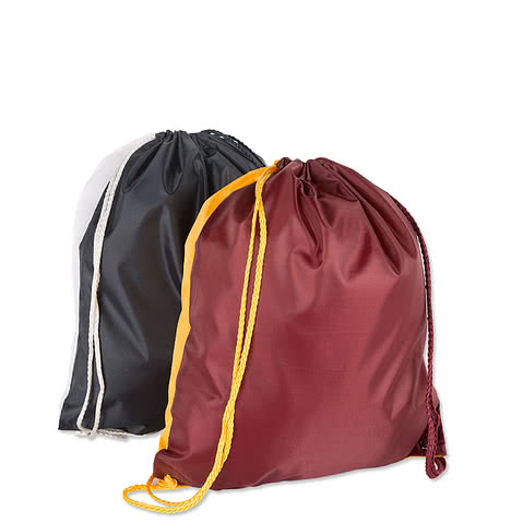 Spirit Two-Tone Drawstring Bag
