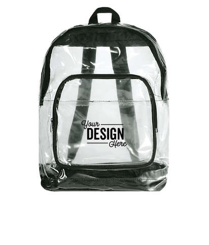 Rally Clear Backpack - Black