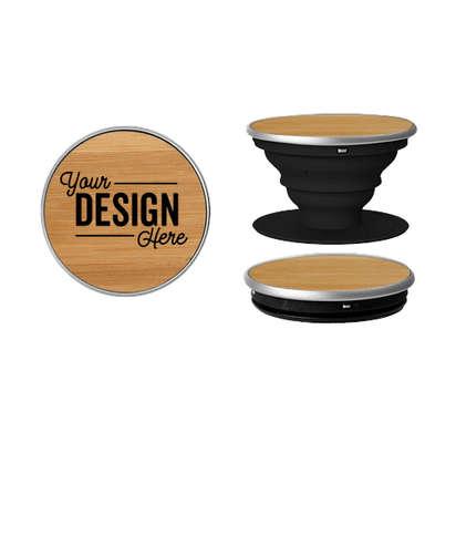 Full Color Wood PopSocket® - Bamboo