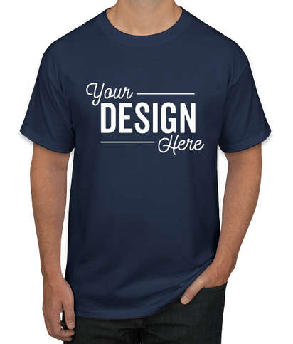 Hanes Authentic T-shirt - Navy