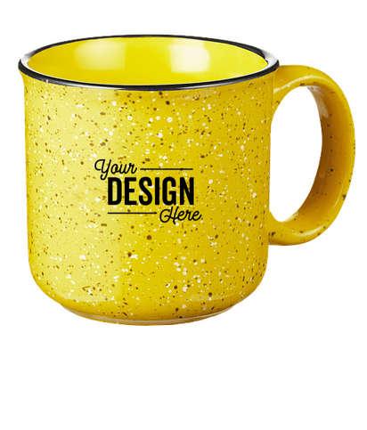 15 oz. Campfire Ceramic Mug (Set of 24) - Yellow
